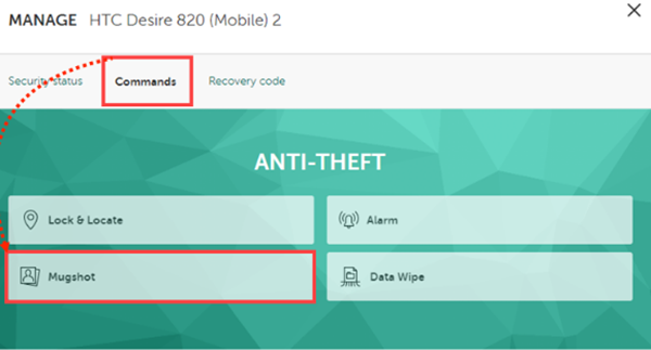 Kaspersky Anti-theft