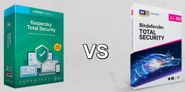Bitdefender Total Security vs Kaspersky Total Security
