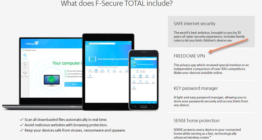 Freedome VPN Module