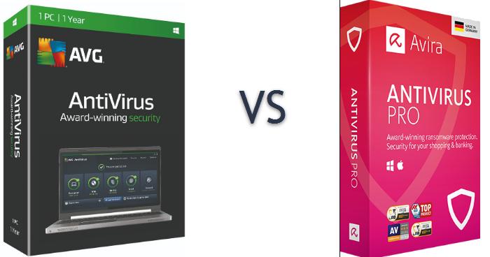 AVG Versus Avira Antivirus