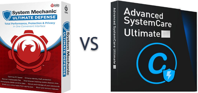 Advanced SystemCare vs System Mechanic