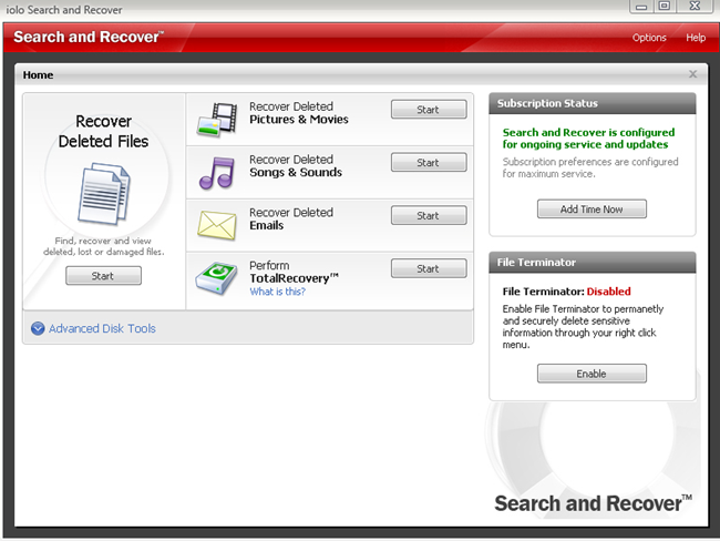 Search and Recover Files